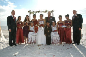 Wedding at Lighthouse Resort Inn & Suites.