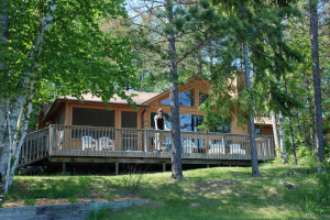 Lodging exterior at River Point Resort & Outfitting Co.