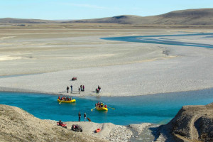 Rafting at East Canadian Arctic Holidays.