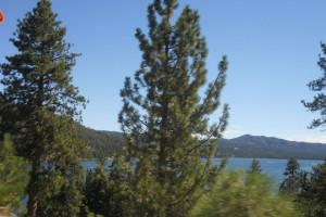 Lake view at Blue Horizon Lodge.