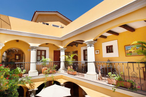Exterior view of Raintree's Casa San Felipe Hostal Oaxaca.