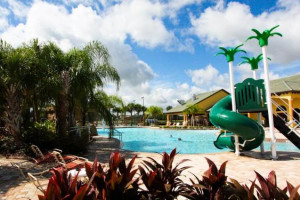Resort water park at Orlando Luxury Escapes Vacation Rentals.