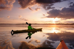 Kayaking at Bellmere Winds Resorts.