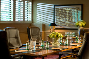 Meeting room at Topnotch Resort.