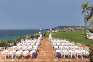 Wedding at The Ritz-Carlton, Laguna Niguel.