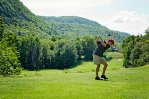 Golfing at Keltic Lodge