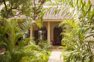 Exterior view of Mango House.