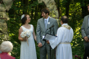 Wedding at The Outing Lodge at Pine Point.