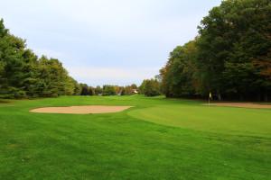 Golf course at Basin Harbor Club.
