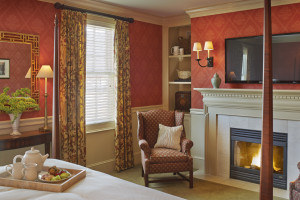Guest room at The Green Mountain Inn.