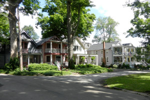Vacation rental exterior at Chautauqua Institution.