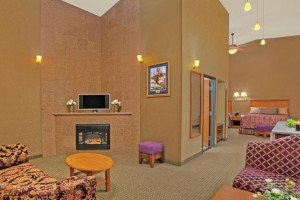 Standard Suite at Rushmore Express Inn & Family Suites.