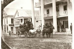 Historical photo of Thayers Inn.