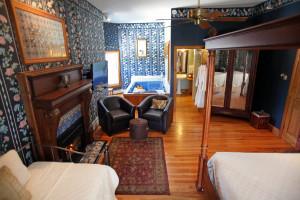 Guest room at Albergo Allegria.