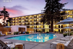 Exterior of Hotel Paradox