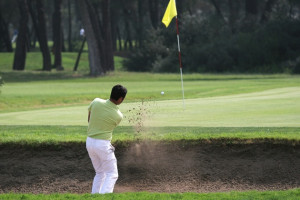 Golf course near Quarterdeck Resort.