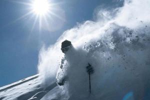 Skiing at Beaver Run Resort.