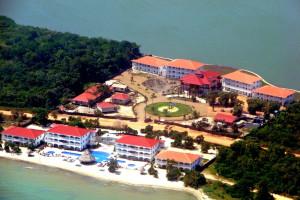 Aerial view of Bellamaya Resort & Residences.