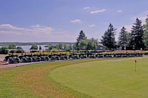 Golf course at Eganridge Resort, Country Club & Spa.