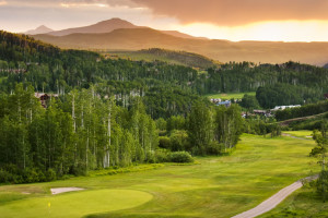 Telluride Golf Course near SilverStar Luxury Properties.