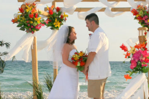 Beach Wedding at Port Royal Ocean Resort