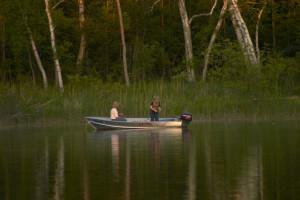 Boating at Pine Terrace Resort.