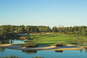 Golf course near Sea Hawk Motel.