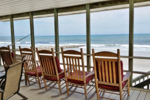 Rental porch at Litchfield Real Estate.