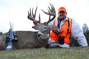 Deer hunting at Safari River Outdoors.
