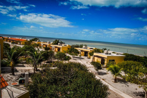 Exterior view of Playa Maya Resorts.