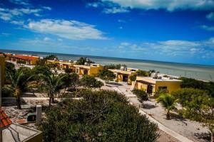 Exterior view of Playa Maya Resorts.