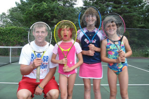 Tennis Lessons at Fair Hills Resort.