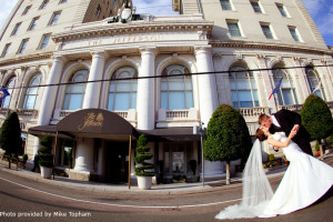 Wedding at The Jefferson Hotel.