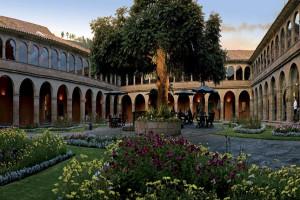 Exterior view of Hotel Monasterio.