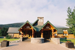 Exterior view of Manning Park Resort.