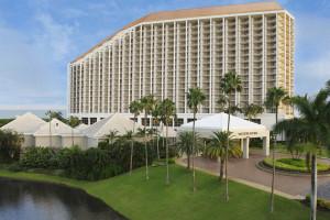 Exterior view of Waldorf Astoria Naples.