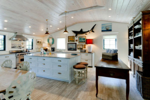 Rental kitchen at Island Real Estate.