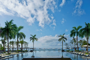 Outdoor pool at The Ritz-Carlton, Bali.