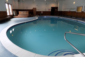 Indoor pool at Chautauqua Lodge.