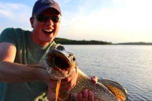 Fishing at Eagles Nest Resort.