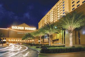 Exterior view of Golden Nugget Casino Hotel Biloxi.