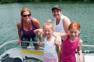 Kids Fishing at  Eagle Ridge Resort