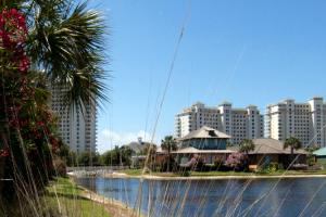 Exterior view of Spectrum Resorts.