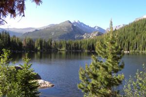 Lake view near Alpine Trail Ridge Inn.