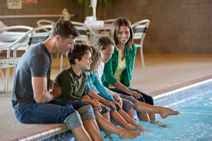 Family at AmericInn Lodge & Suites Two Harbors.