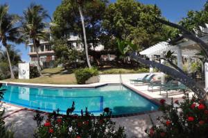 Outdoor pool at Hacienda Tamarindo.