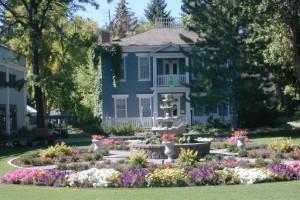 Exterior view of Homestead Resort.