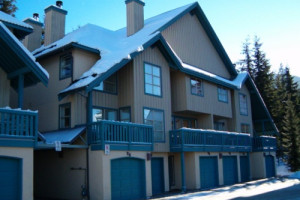 Rental exterior of Whistler Superior Properties.