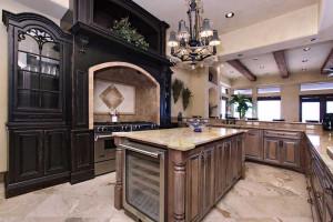 Rental kitchen at Southern Vacation Rentals.