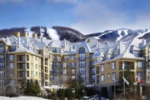 Exterior view of Cap Tremblant Mountain Resort.